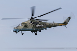 Mil Mi-35M Hind Russian Air Force RF-13460 / 58 Yellow