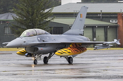 General Dynamics F-16BM Fighting Falcon Belgian Air Force FB-15