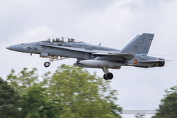 McDonnell Douglas EF-18BM Hornet Spanish Air Force CE.15-07 / 15-76