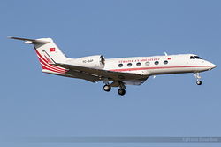 Gulfstream Aerospace G-IV Turkish Government TC-GAP