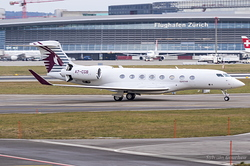 Gulfstream G650 Qatar Executive A7-CGB