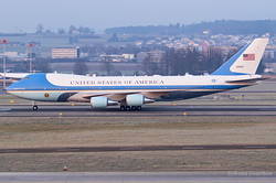 Boeing VC-25A United States Air Force 92-9000