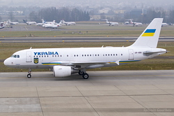 Airbus A319-115X Ukrainian Government UR-ABA