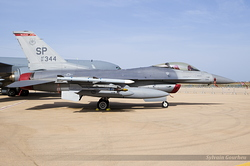 General Dynamics F-16CM Fighting Falcon US Air Force 91-0344 / SP